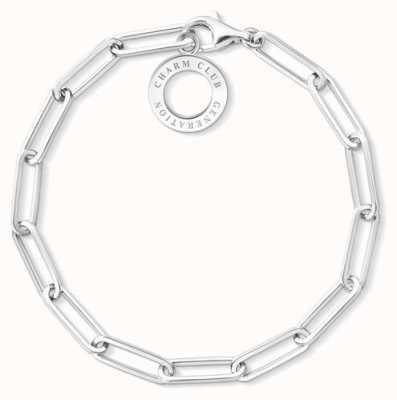 Thomas Sabo Sterling Silver Large Link Charm Bracelet X0259-001-21-L17
