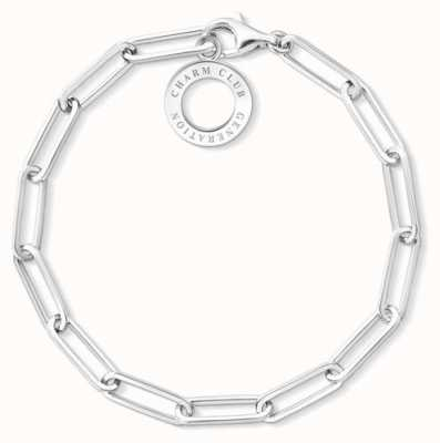 Thomas Sabo Sterling Silver Large Link Charm Bracelet X0259-001-21-L19