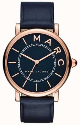 Marc Jacobs Womens Marc Jacobs Classic Watch Navy Leather MJ1534