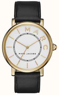 Marc Jacobs Womens Marc Jacobs Classic Watch Black Leather MJ1532