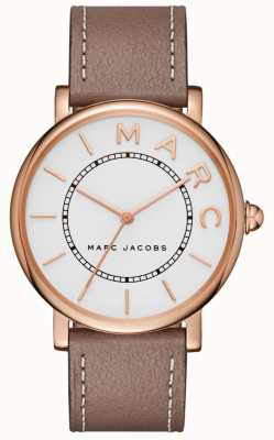 Marc Jacobs Womens Marc Jacobs Classic Watch Grey Leather MJ1533