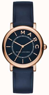 Marc Jacobs Womens Marc Jacobs Classic Watch Navy Leather MJ1539