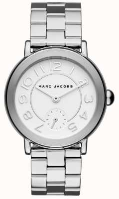Marc Jacobs Womens Riley Watch Silver Tone MJ3469