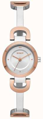 DKNY Womens City Link Stainless Steel Bracelet Watch NY2749