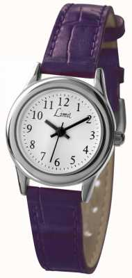 Limit Womens Purple Strap White Dial 6932