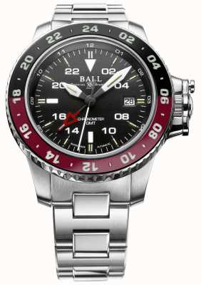 Ball Watch Company Engineer Hydrocarbon AeroGMT II 42mm Black Dial DG2018C-S3C-BK