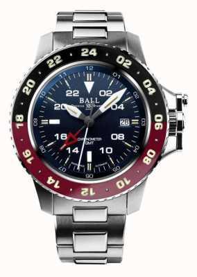 Ball Watch Company Engineer Hydrocarbon AeroGMT II 42mm Blue Dial DG2018C-S3C-BE