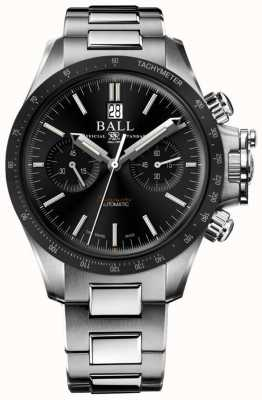 Ball Watch Company Engineer Hydrocarbon Racer Chronograph 42mm Black Dial CM2198C-S1CJ-BK