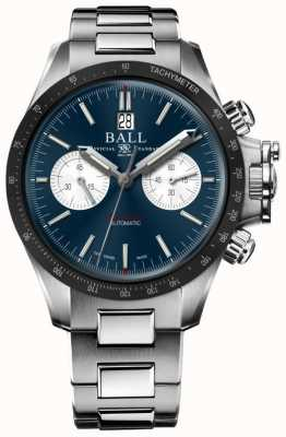 Ball Watch Company Engineer Hydrocarbon Racer Chronograph 42mm Blue Dial CM2198C-S1CJ-BE