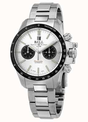 Ball Watch Company Engineer Hydrocarbon Racer Chronograph 42mm Silver Dial CM2198C-S1CJ-SL