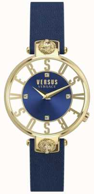 Versus Versace | Womens | Kristenhof | Blue Dial | Blue Leather Strap | SP49020018