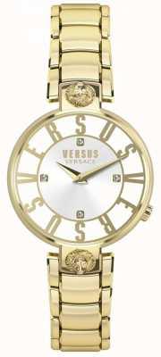 Versus Versace Womens Kristenhof Gold Dial Gold PVD Bracelet SP49060018