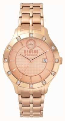 Versus Versace Womens Brackenfell Rose Gold Dial Rose Gold PVD Bracelet SP46040018