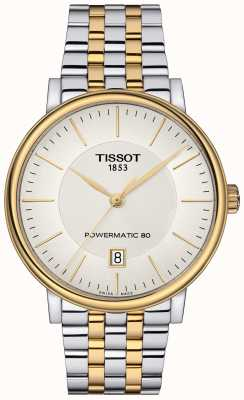 Tissot Mens Carson Automatic Two Tone Stainless Steel T1224072203100