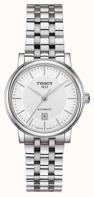 Tissot | Carson Automatic Lady | Stainless Steel  | EX DISPLAY T1222071103100EX-DISPLAY