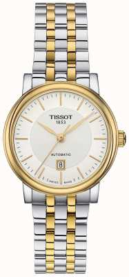 Tissot Womens Carson Automatic Two Tone Stainless Steel T1222072203100