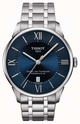 Tissot Mens Chemin Des Tourelles Powermatic 80 Stainless Steel T0994071104800