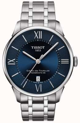 Tissot Mens Chemin Des Tourelles Powermatic 80 Stainless Steel T0994071104800