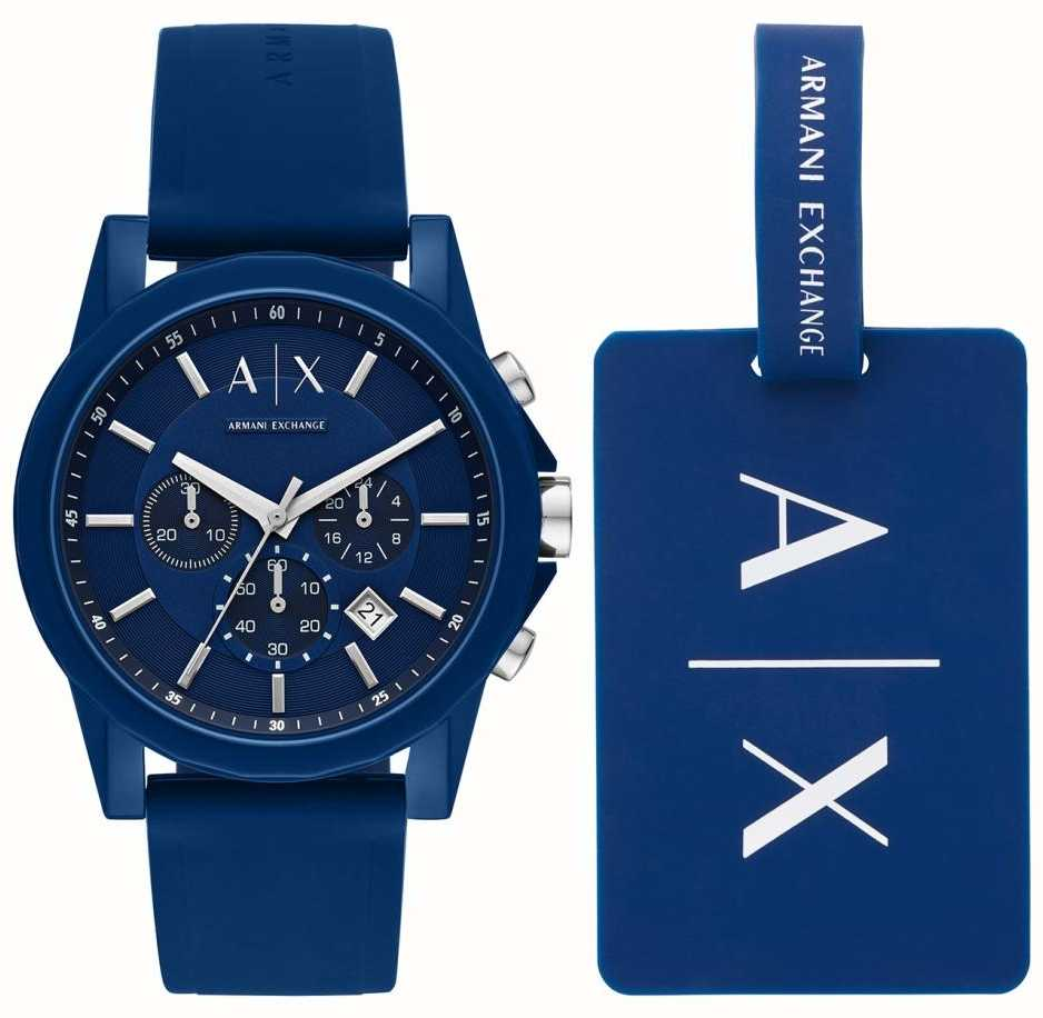 e0fdf34b4a6 Armani Exchange Mens Sport Watch Gift Set AX7107 - First Class Watches™