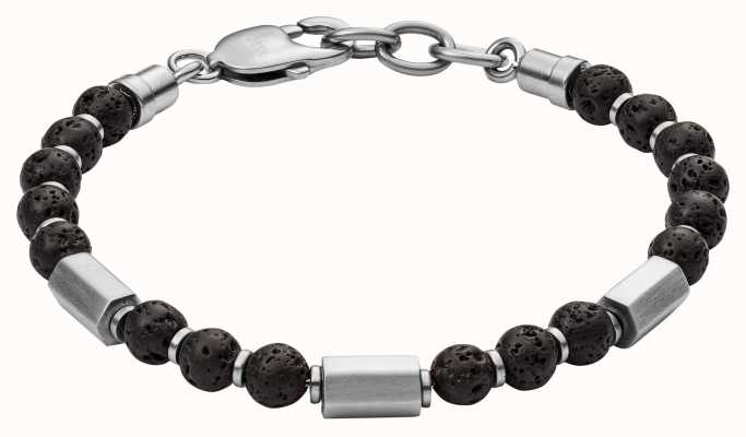 Fossil Mens Stainless Steel Bracelet JF03007040
