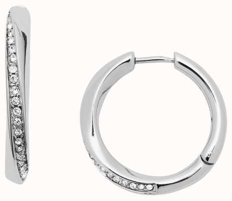 Fossil Womens Stainless Steel Earrings JF03015040