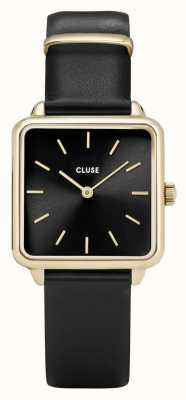CLUSE La Garconne Gold And Black Watch CL60008
