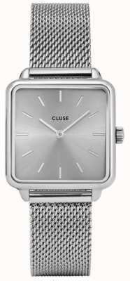 CLUSE La Garaconne Silver Mesh Watch CL60012