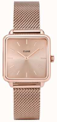CLUSE La Graconne Rose Gold Mesh Watch CW0101207009