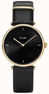 CLUSE Triomphe Gold And Black Watch CL61006