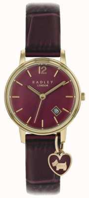 Radley Ladies Watch Rose Gold Case Purple Strap RY2718