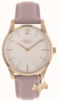 Radley Ladies Watch Rose Gold Case Cobweb Strap RY2710