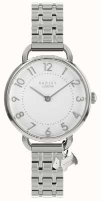 Radley Ladies Watch Silver Open Shoulder Bracelet RY4343