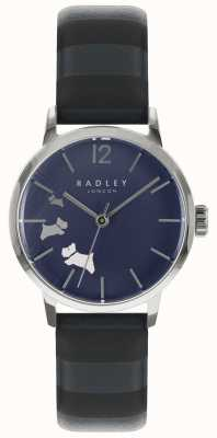 Radley Ladies Data Dog Blue Ink Satin Dial RY2675