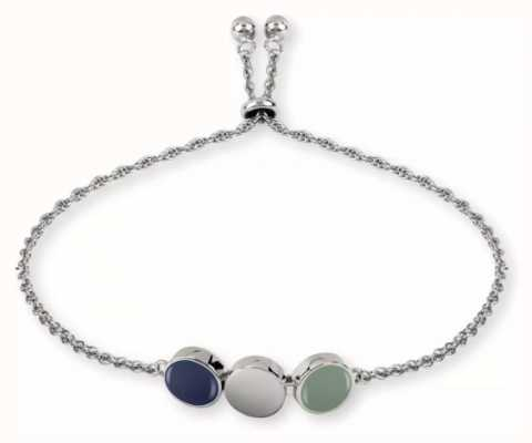 Radley Jewellery Silver Enamel Drop Bracelet RYJ3027