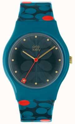 Orla Kiely Orla Kiely Ladies Bobby Watch Blue OK2232