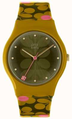 Orla Kiely Orla Kiely Ladies Bobby Watch Olive Green OK2234