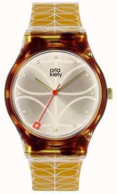 Orla Kiely Orla Kiely Ladies Bobby Watch Tortoiseshell OK2222