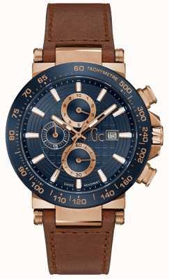 Gc Mens Urban code Gents Blue Watch Y37002G7MF