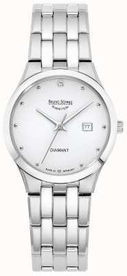 Bruno Sohnle Womens Florenz | White Dial | Stainless Steel Bracelet 17-13197-252
