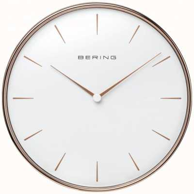 Bering Rose Gold Wall Clock 90292-64R