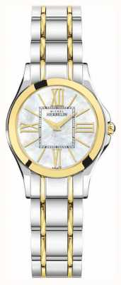 Michel Herbelin Luna Ladies | Two Tone metal strap | 17487/BT29