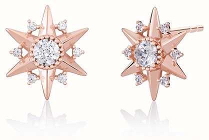 Chamilia Blush Starburst Stud Earrings 1315-0016