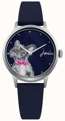 Joules Womens Navy Silicone Strap Blue Dial JSL010U