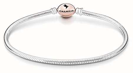 Chamilia Blush Rose Alloy Clasp Snake Chain Large 1011-0003