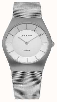 Bering Classic Mens Stainless Steal Mesh 11935-000