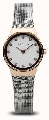 Bering Womens Analogue Quartz Watch With Stainless Steel St 12924-064