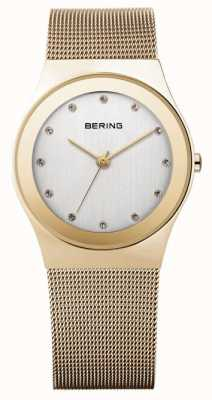 Bering Time Women's Analogue Quartz Stainless Steel Coated 12927-334