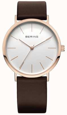 Bering Classic Collection Watch With Calfskin Band 13436-564