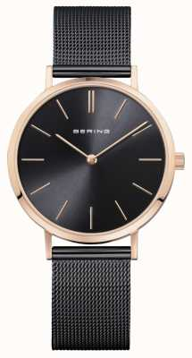 Bering Ladies´ Watch Classic Black Rose Gold 14134-166