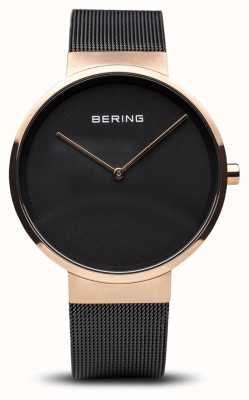 Bering Unisex Adult Analogue Quartz Watch With Stainless Steel Str 14539-166